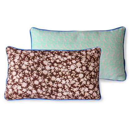 doris for hkliving: printed cushion brown (35×60)