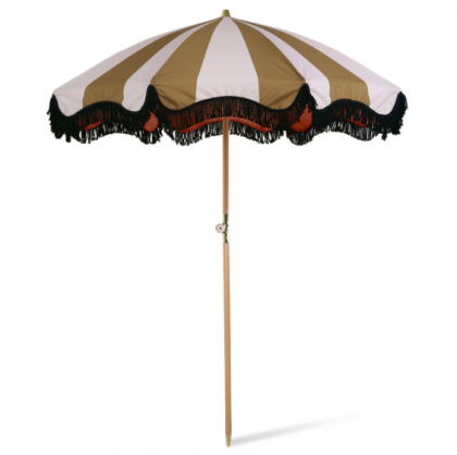 Beach umbrella classic nude/mustard HK Living