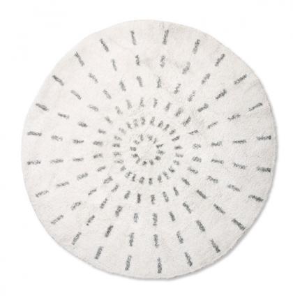 round bath mat swirl 80cm